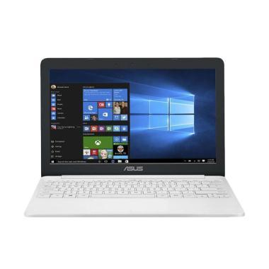 Asus E203MAH-FD412T Notebook - Pearl White [Intel N4000 Dual Core/ 4GB/ 500GB/ Intel HD Graphics/ 11.6 Inch HD/ Windows 10] Pearl White