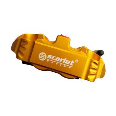 harga Scarlet Racing DL14R 4 Piston CNC Caliper Motor - Gold Blibli.com