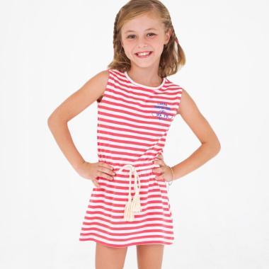 Surfer Girl Junior Summer Stripes Dress .