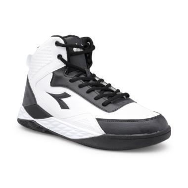 harga FS MBW - Diadora Men Basketball Spin Sepatu Olahraga Pria - Black White [DIAKB80809W] Blibli.com