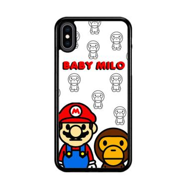 harga Flazzstore Baby Milo And Mario W4812 Premium Casing for iPhone XS Max Blibli.com