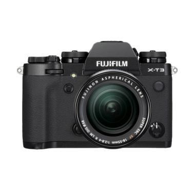 harga Fujifilm X-T3 Kit 18-55mm Lens Kamera Mirrorless Black Free 2pc NP-w126s, Athabasca Filter, Mug Cup XF 16-55mm - Braga Photo Video Blibli.com