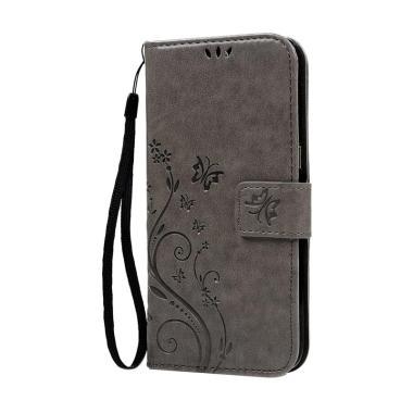 harga IIT Flip Cover Casing for Samsung Galaxy S7 Edge - Abu-abu Blibli.com
