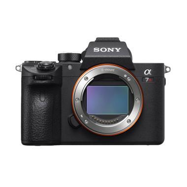 SONY Alpha A7RIII ILCE - 7RM3 Full Frame Body Only Kamera Mirrorless - Hitam Hitam