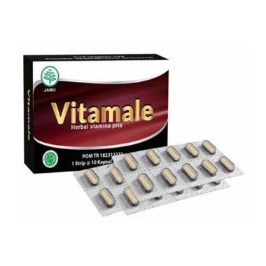 Vitamale Obat Vitalitas Pria [10 Kapsul]