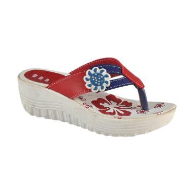befc23c51438 CBR 6 KIC 009 Sandal Wedges Kasual Anak Perempuan