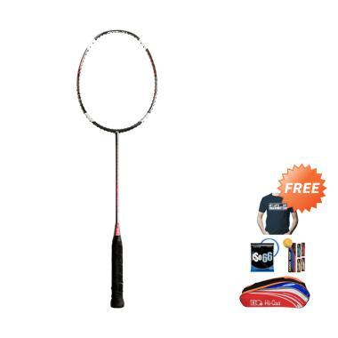 Hi-Qua X-Actor 7 Raket Badminton + Free Tas + Kaos + Senar + Grip