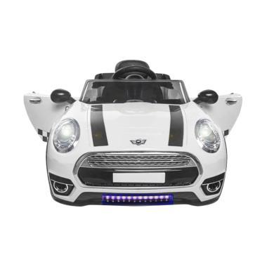harga Pliko PK8100 New Mini Cooper Sport Mobil Aki Mainan Anak - White [JABODETABEK] Blibli.com