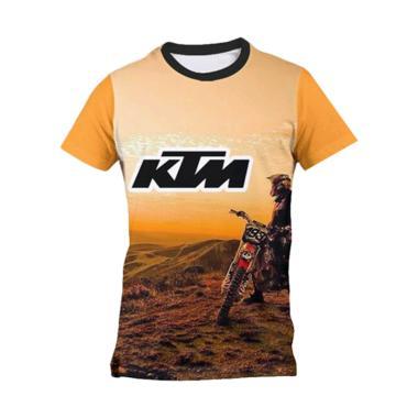 harga Kaos Urban KTM AZ0019 Dyrfit Benzema Motocross Jersey Olahraga - Kuning Blibli.com