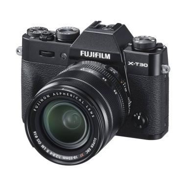 harga Fujifilm X-T30 Kit 18-55mm Black Kamera Mirrorless Free Sandisk Extreme 32 GB Resmi Fujifilm Indonesia Black Blibli.com