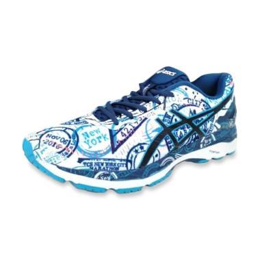 quality design 91538 3da2a Asics Gel Kayano 23 Mens Running Shoes White NYC Edition Sepatu Lari Pria