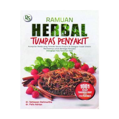 harga Penebar Swadaya Ramuan Herbal Tumpas Penyakit By Felix Adrian, dr & Setiawan Dalimartha (alm) Buku Kesehatan Blibli.com