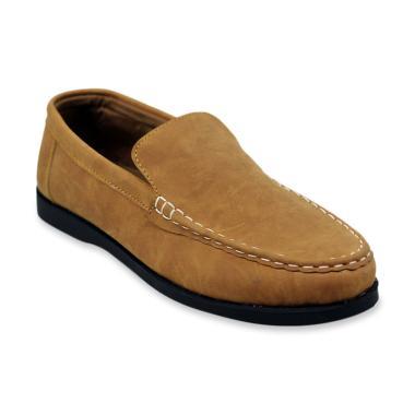 harga Dr.Faris Footwear Casual Slip On Sepatu Pria [101/ Original] Blibli.com