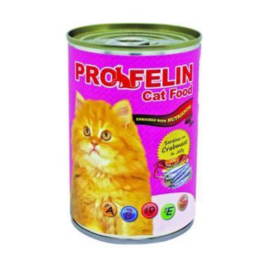 harga Cleine Tadita Petshop - Profeline Sardines With Crabmeat In Jelly Makanan Kucing [400 g] Blibli.com