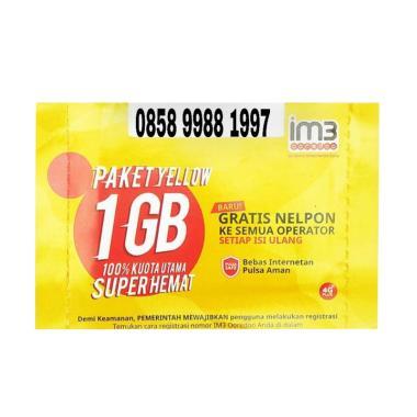 Indosat IM3 Nomor Cantik Seri Tahun 0858 9988 1997 K... Rp 403.000 Rp 620.000 ...
