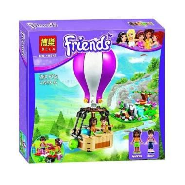 Bela Lego Friends 10546 Heartlake Air Balloon Building Sets & Blocks [260 pcs]