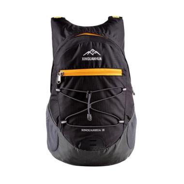 harga XINGUANHUA Mini Lipat Backpack Tas Ransel Sepeda Gunung - Black Blibli.com