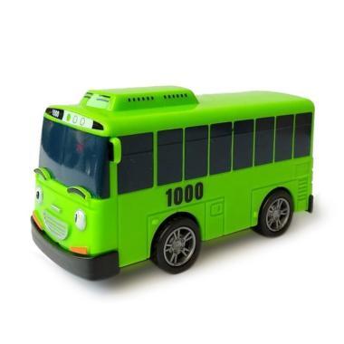1pcs Little Bus Tayo Mainan Mobil Pull Back Car Random