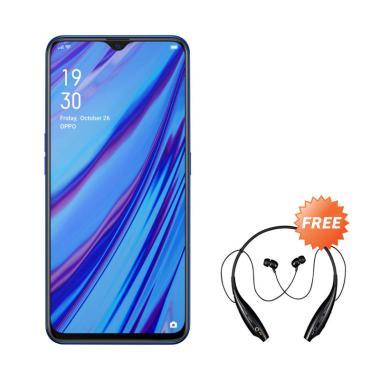harga OPPO A9 2020 Smartphone [8GB/ 128 GB] + Free Headset Bluetooth Sport Blibli.com