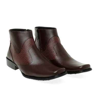 harga Kicker Formal Sepatu Boot Pria  Boots [0312CK] Blibli.com
