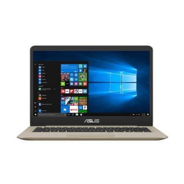 harga OS - ASUS A411QA-BV202T Notebook - Gold ( A12-9720P/UMA/4G/1T/HD/14