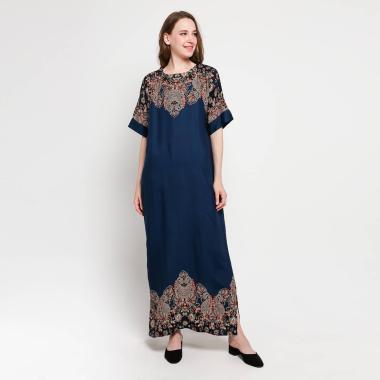 Batik Adikusuma 162442099 Thailand Style Melisa Long Dress Wanita - Biru
