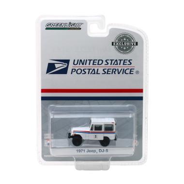 GREENLIGHT 29997 1971 JEEP DJ-5 DELIVERY UNITED STATES POSTAL SERVICE USPS 1//64