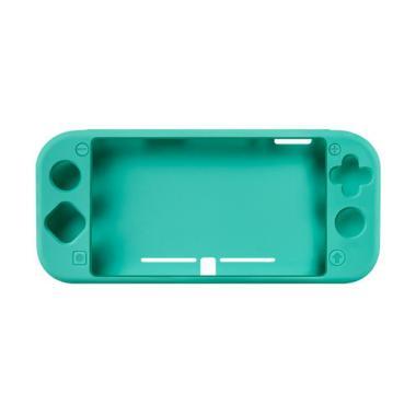 IIT SND-430 Premium Soft Silicone Rubber Protective Case Cover for Switch Lite or Nintendo Mini Console - Green