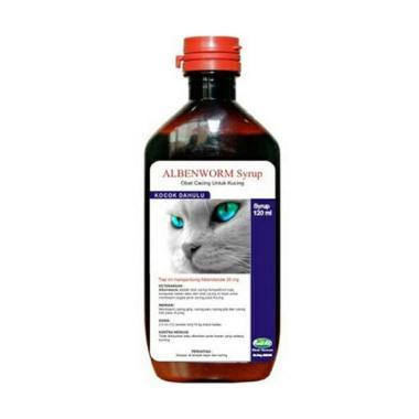 harga ALBYAS Alben Worm Obat Cacing Kucing [Cair] Blibli.com