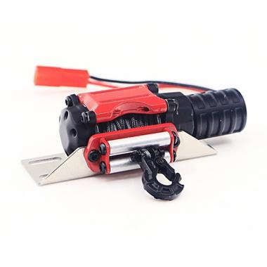 harga H-IKEA Automatic Winch and Wireless Remote Controller Receiver for 1/10 RC Crawler Car Axial SCX10 TRAXXAS TRX4 D90 TF2 Tamiya CC01 Blibli.com