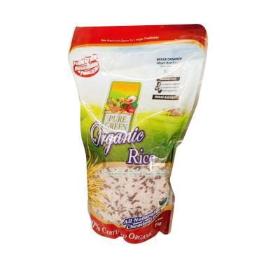 Beras Pure Green Organic Black Rice