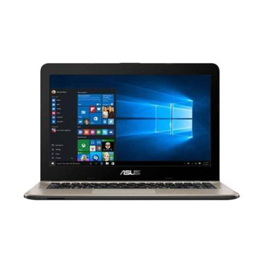 harga VS - Asus X441BA-GA441T Notebook - Brown [14 inch/ A4-9125/UMA/4G/1T/Win10 ] Blibli.com