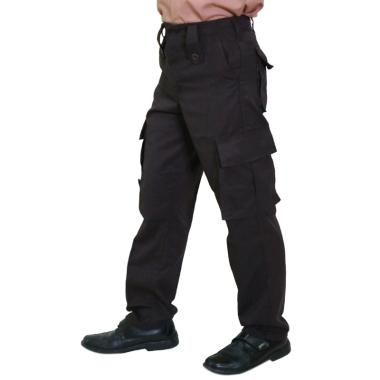 harga Baju Sekolahan Ripstop Celana Panjang Pria for PDL Polri/ Brimob/ Pramuka - Coklat Tua Blibli.com