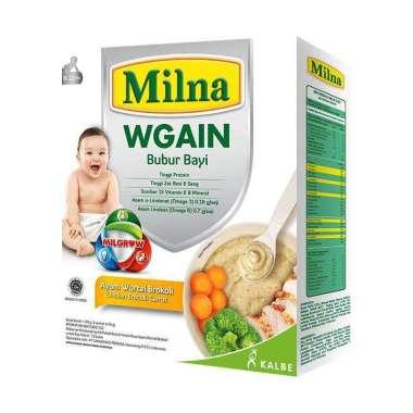 harga SMG/JOG/SOLO - MILNA Wgain Bubur Bayi Ayam Wortel Brokoli [120 g/8-12 Bulan] Blibli.com
