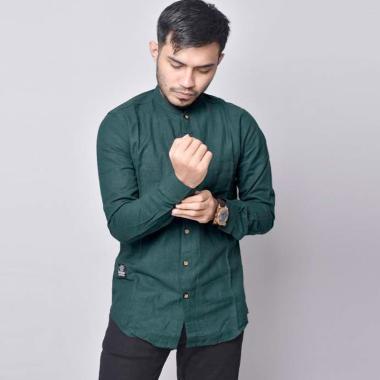 harga Bsg_fashion1 Polos Casual Kemeja Lengan Panjang Pria [6071] Blibli.com