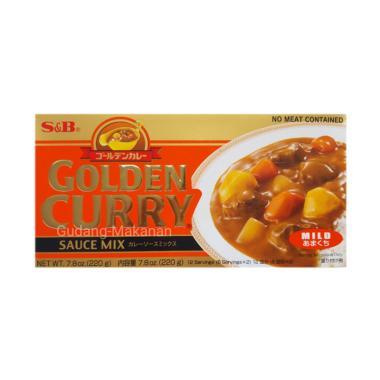 harga S&B Golden Curry Sauce Mix Mild Bumbu Masak [220 g] Blibli.com