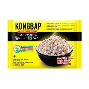harga SMG/JOG/SOLO - Kongbap Chiaseed & Quinoa Makanan Organik Lainnya [150 g/ 6 x 25 g] Blibli.com