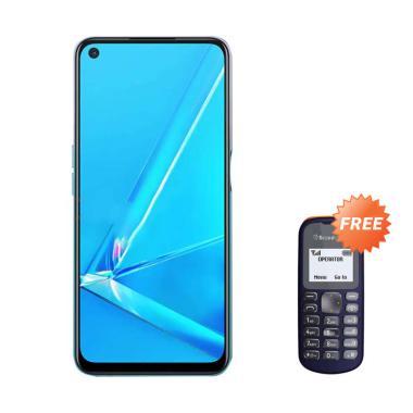 OPPO A92 Smartphone [128GB/ 8GB] + Free Handphone Fitur
