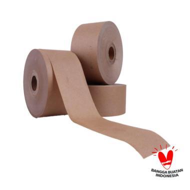 Sustaination Gummed Tape Selotip Kertas Air coklat