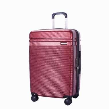 Navy Club Tas Koper Hardcase Fiber ABS - 4 Roda Putar Kunci TSA - Expandable - CICG Size 28 Inch