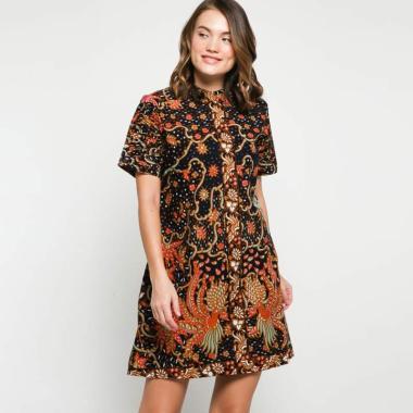 Andelly Batik 02 05 Dress Panjang Wanita