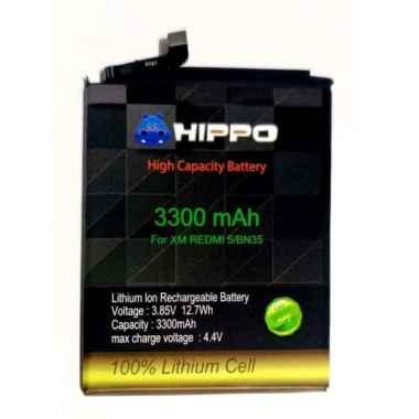 harga HIPPO Baterai Handphone for Xiaomi Redmi 5 Bn35 [3300 mAh] Blibli.com