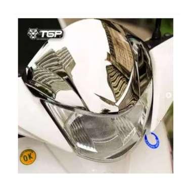 harga PROMO TGP Visor Yamaha Mio J - Black Chrome - Aksesoris Motor - Variasi Sepeda Motor Chrome Blibli.com