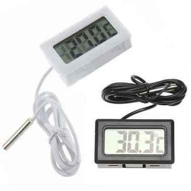 harga Pengukur Suhu Digital Termometer Air Ikan Aquarium Ruangan Travelling Blibli.com