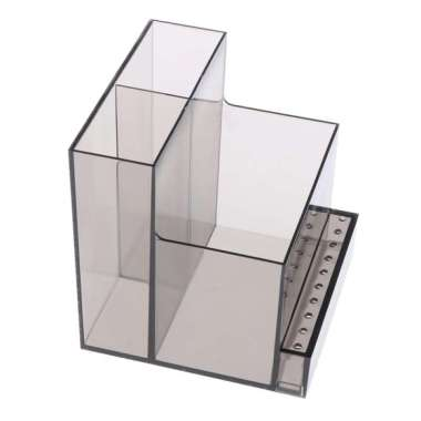 harga Electric Nail Art Drill Bit & Machine Holder Stand Display Acrylic Container Black Blibli.com