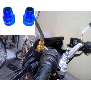 harga Aksesoris Motor Monel Spion CNC Bahan Aluminium Warna BIRU Blibli.com