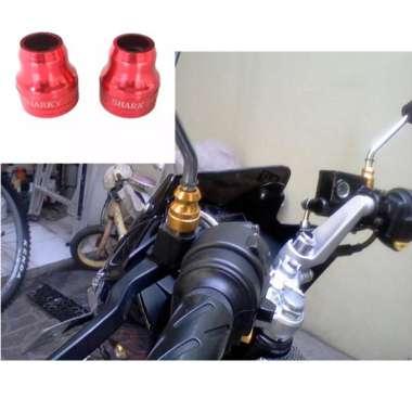 harga Aksesoris Motor Monel Spion CNC Bahan Aluminium Warna MERAH Blibli.com
