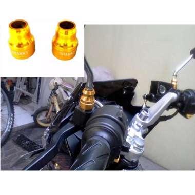 harga Aksesoris Motor Monel Spion CNC Bahan Aluminium Warna GOLD Blibli.com