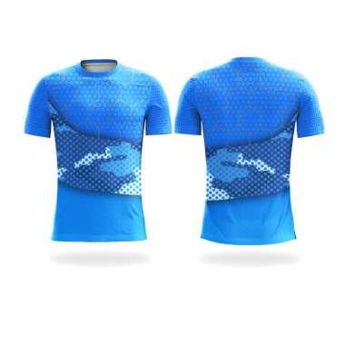 harga [PRE ORDER 14 Hari Kerja] Bintang Sport Jersey Sepeda Custom Lengan Pendek Unisex - BAD045 (O-Neck) S Multicolor Blibli.com