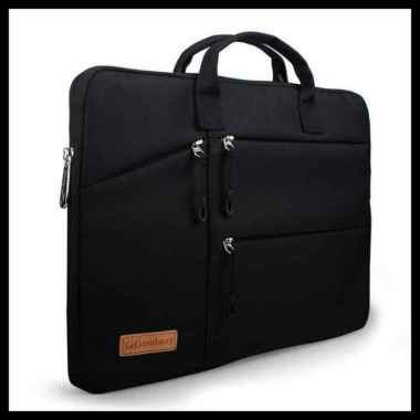 harga Tas Laptop Midway Black Multi Pocket with Hand Strap 14 inch Blibli.com